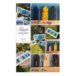 Les petites cabines de plage