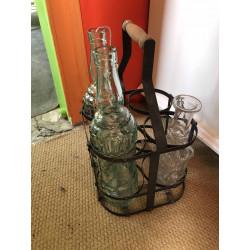 Porte bouteilles année 60